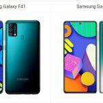 Samsung Galaxy F41 vs Samsung Galaxy F62